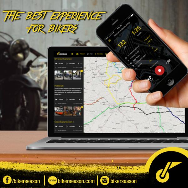 Suivi d'itinéraire sur l'application BikerSeason